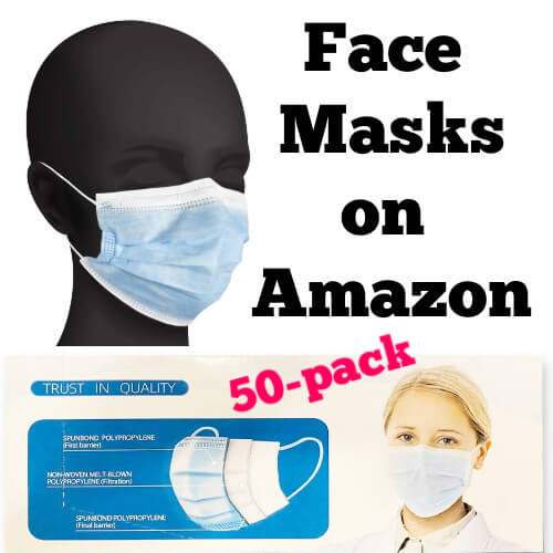 Face masks on Amazon available in a 50-pack or smaller based on your needs. Facial masks, face coverings, mouth and nose covers, bandanas, and other option to cover your face during the COVID-19.